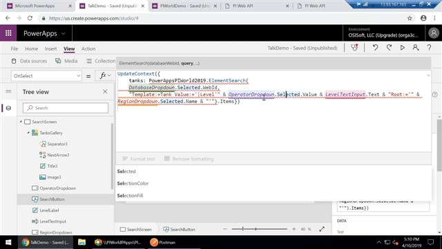 Using PI Web API and PowerApps to Build Real World Apps With